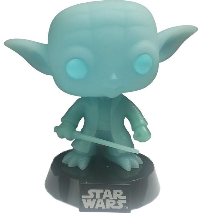Figurine Pop Bobble Head Star Wars Yoda Spirit Exclu