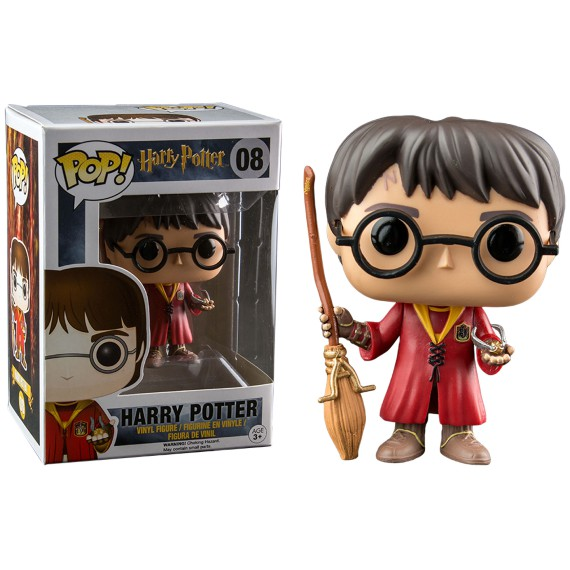 Figurine Pop! Harry Potter Quidditch Exclu