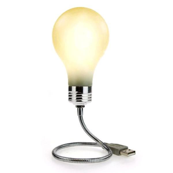 lampe usb ampoule. Black Bedroom Furniture Sets. Home Design Ideas