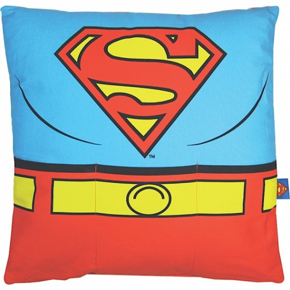 Coussin Superman Costume avec Poches