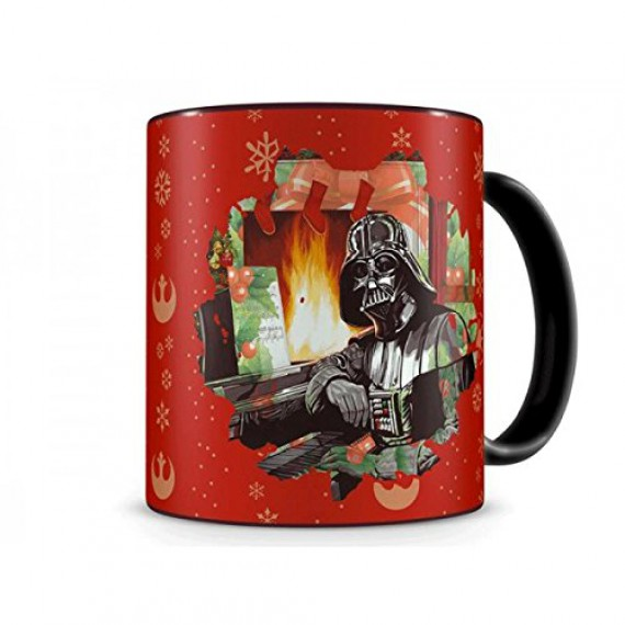 Mug Star Wars édition Noel Darth Vader Piano