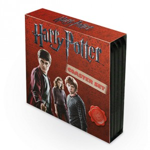 Pack de 4 Dessous de Verre Harry Potter