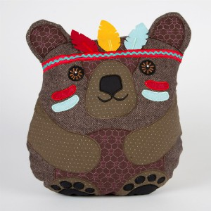 Coussin Andy Bear Tribal Adventure