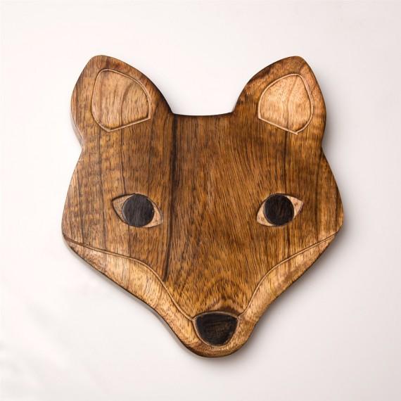 Dessous de plat en bois renard