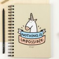 Cahier couleur - Nothing is impossible