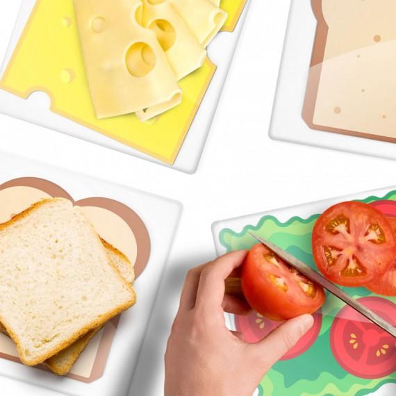 Planche D Couper Sandwich