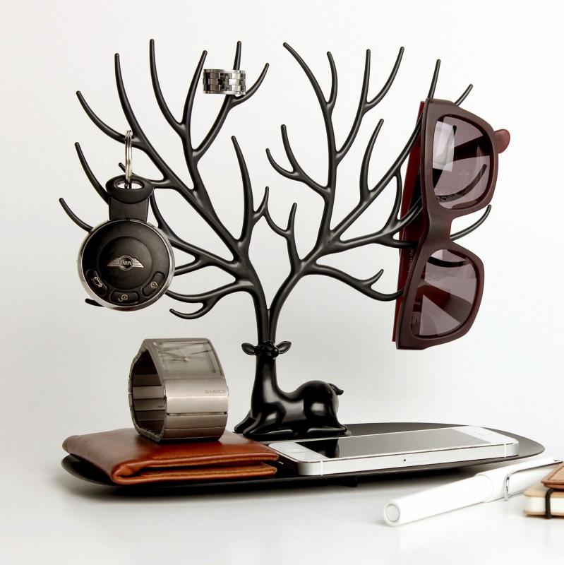 porte bijoux cerf commentseruiner. Black Bedroom Furniture Sets. Home Design Ideas