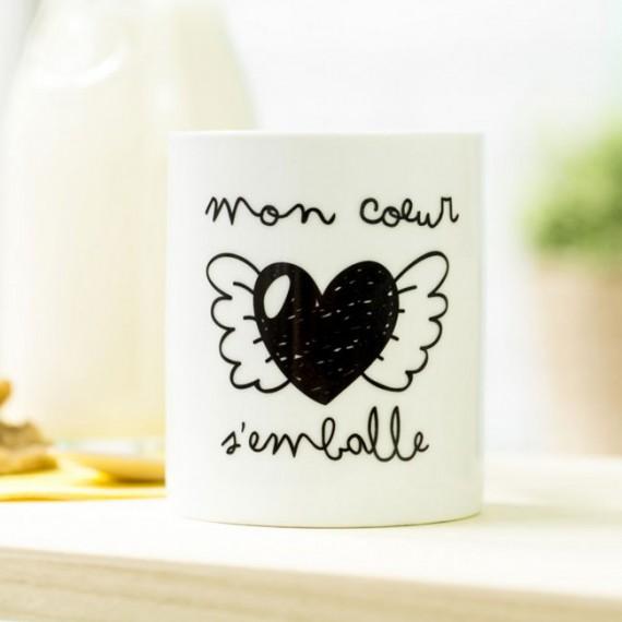 Mug - Mon coeur s'emballe