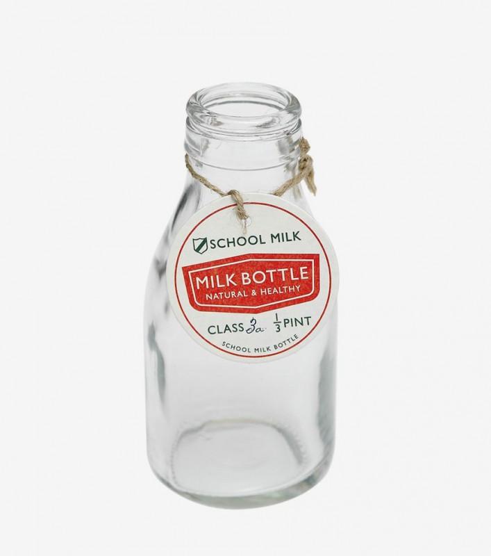 Petite bouteille de lait en verre - Petite bouteille en verre ikea ...