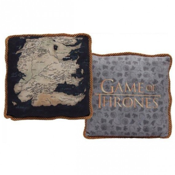 Coussin Game of Thrones Westeros Sud