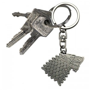 Porte-Clés Game of Thrones Logo Stark