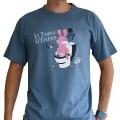 T-Shirt Lapins Crétins Le Trone d'Enfer