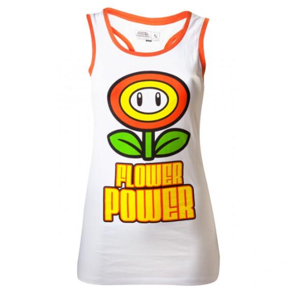 Débardeur Nintendo Flower Power