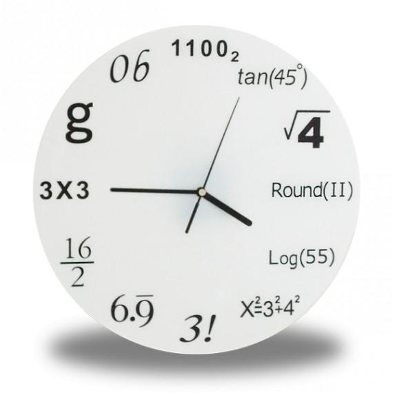 Horloge Formules mathématiques