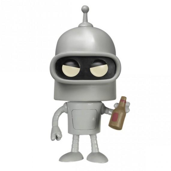 Figurine Pop! Futurama Bender et bouteille