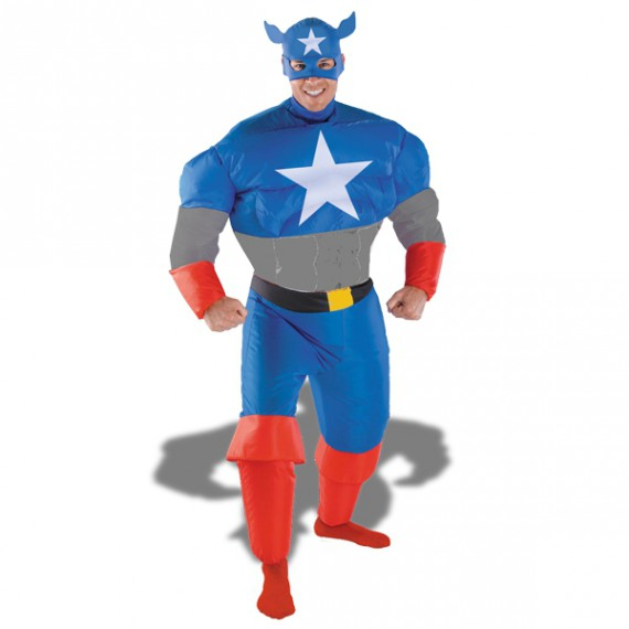 Costume Captain America Gonflable
