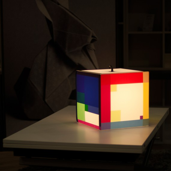 Lampe Cube Color Out Your Day Uniqcube