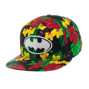 Casquette Batman Flowers