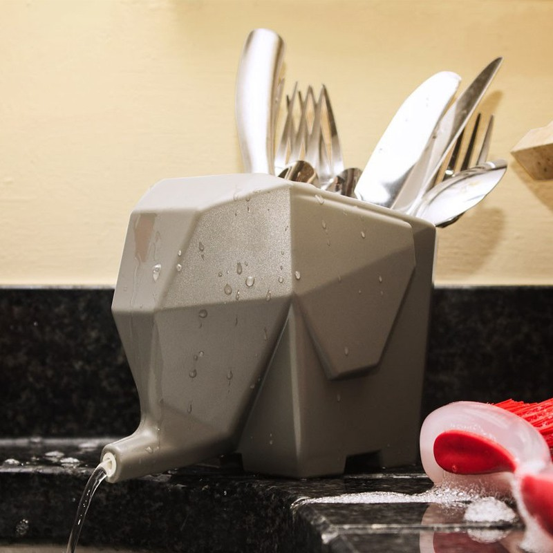 egouttoir vaisselle original l phant commentseruiner. Black Bedroom Furniture Sets. Home Design Ideas