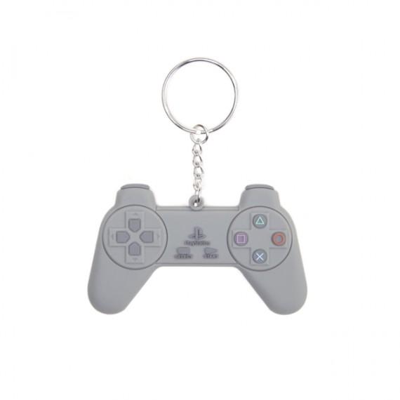 Porte-clefs manette de Playstation en PVC