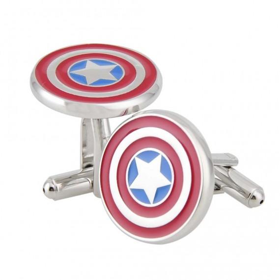 Boutons de Manchette Captain America