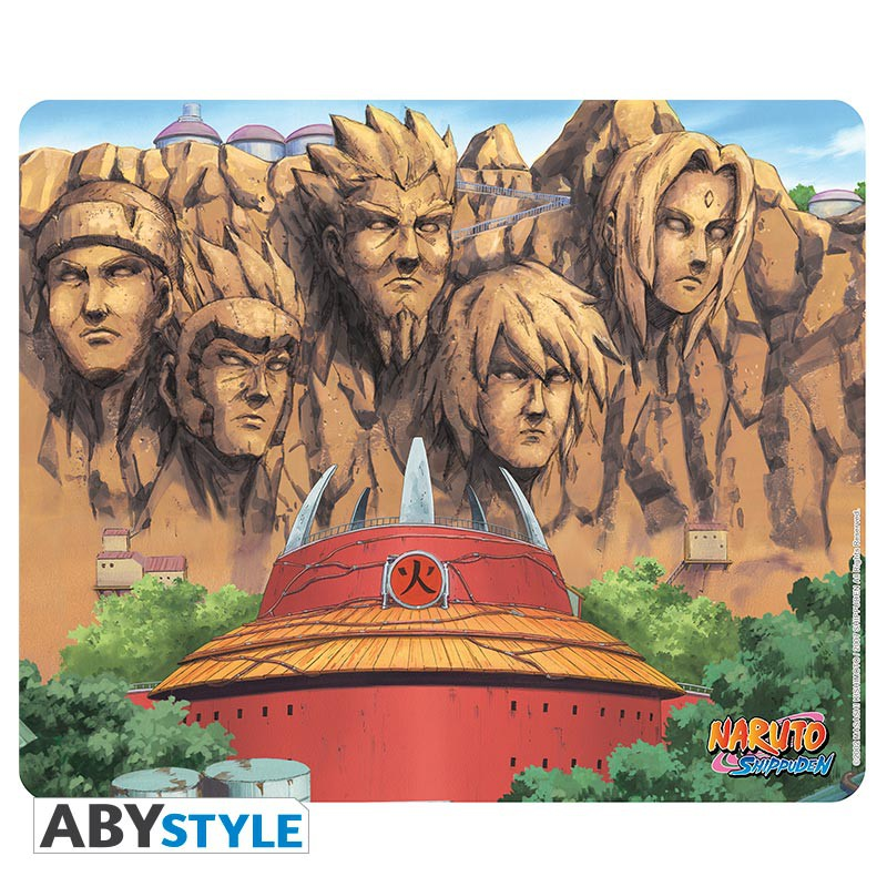 Tapis de souris naruto le mur des hokage commentseruiner for Decoration murale naruto