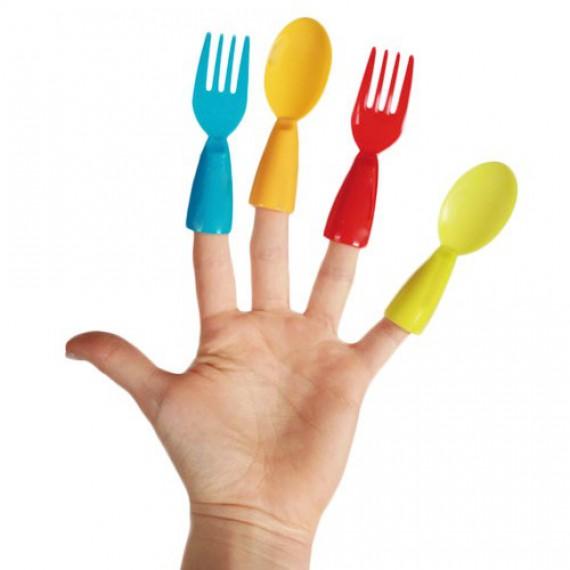 Couverts pour doigts