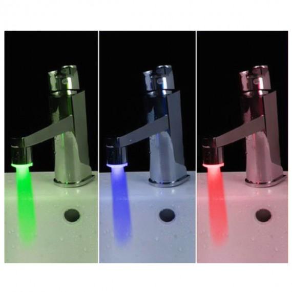 Mitigeur de robinet à LED 1 embout robinet lumineux