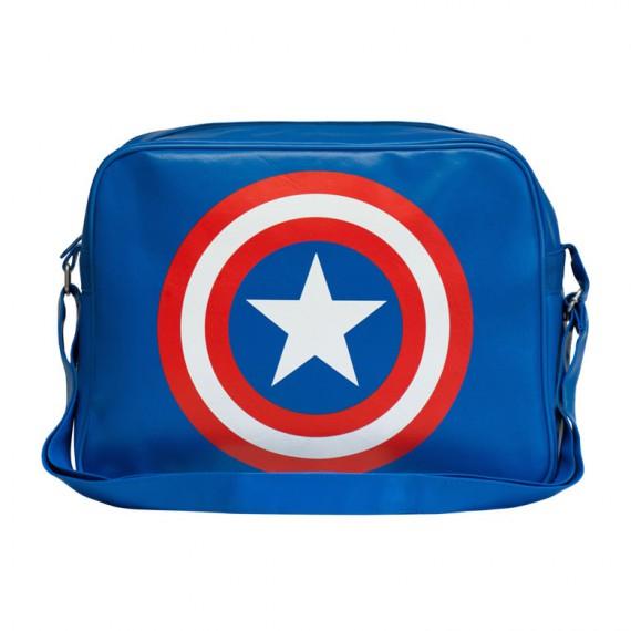 Sac Bandoulière Captain America Vue de Face