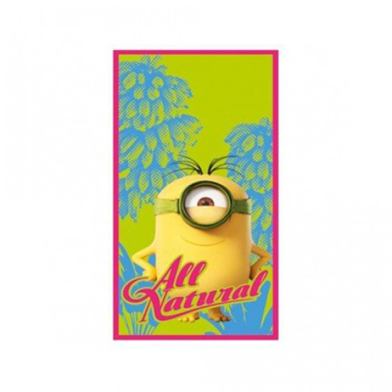 Serviette de plage Minion All Natural