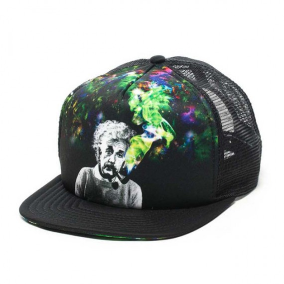 Casquette Albert Einstein Smoke