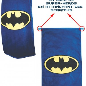 Serviette Batman convertible Cape