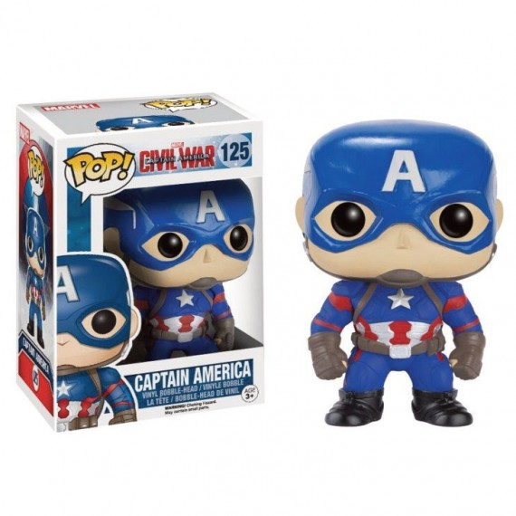 Figurine Pop! Marvel Civil War Captain America