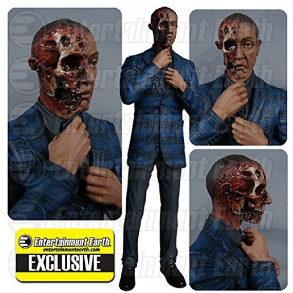 Figurine Gus Fring Brulé Breaking Bad