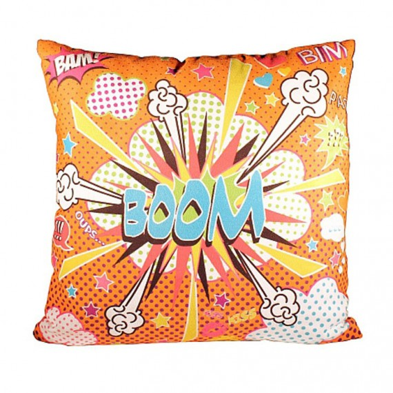Coussin Comics Orange
