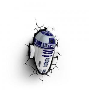 Applique murale 3D Deco light R2-D2 Star Wars