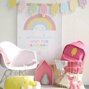 Poster Rainbow Arc-en-Ciel