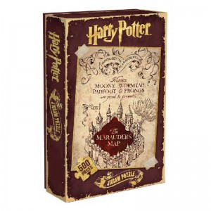 Harry Potter Puzzle Carte du Maraudeur