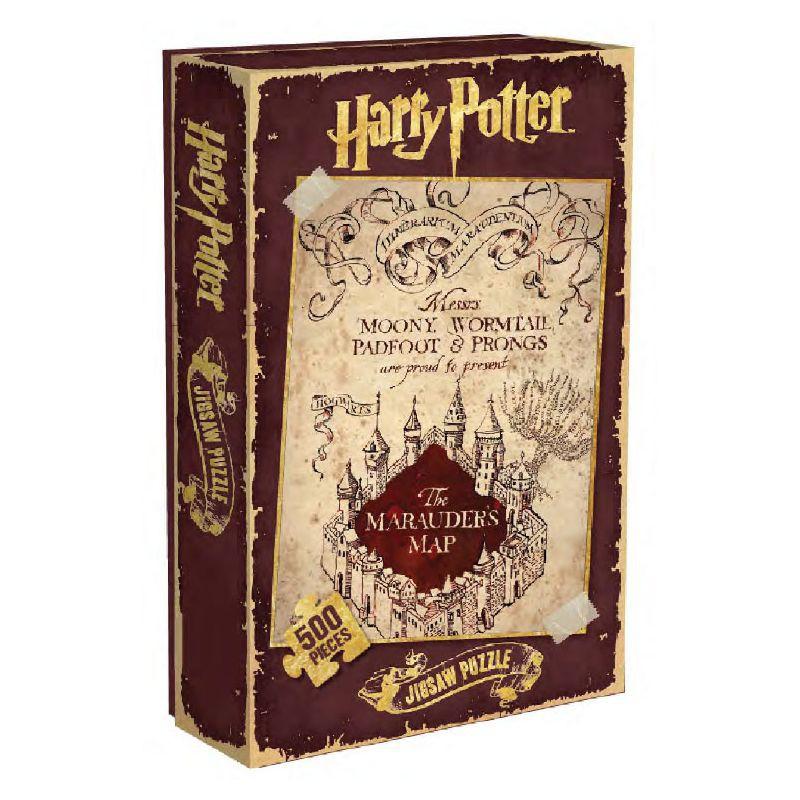 Harry Potter Puzzle Carte du Maraudeur