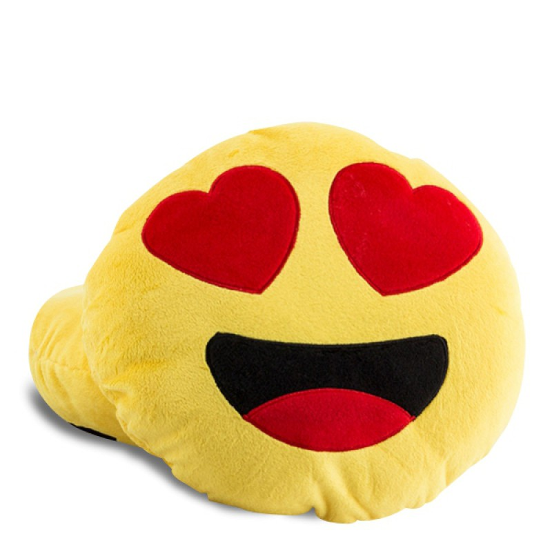 ... > Cocooning > Coussins originaux > Coussin Smiley Emoji Amoureux