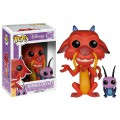 Figurine Pop Mushu et Cricket Mulan Disney