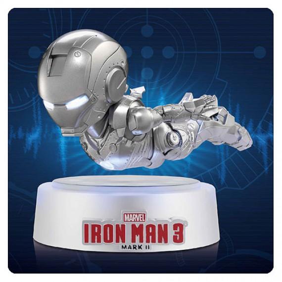 Figurine Iron Man 3 Egg Attack Magnetique en Lévitation