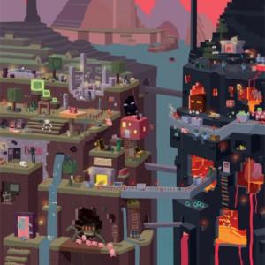 Poster Minecraft Sam Cube