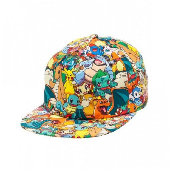 Casquette Pokémon Family Nintendo