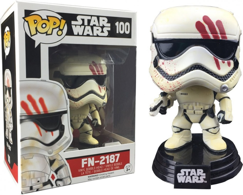 figurine pop bloody stormtrooper fn 2187 star wars. Black Bedroom Furniture Sets. Home Design Ideas