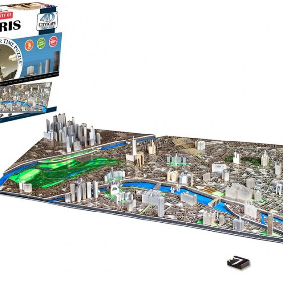 Puzzle Paris 4D CityScape - Jeu de construction