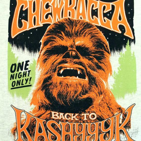 T-Shirt Homme Chewbacca Back to Kashyyyk - Star Wars