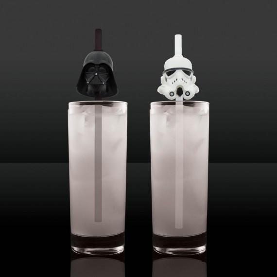Pailles Dark Vador & Stormtrooper - Star Wars