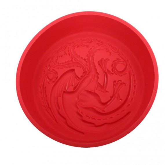 Moule Silicone Game of Thrones - Targaryen Logo