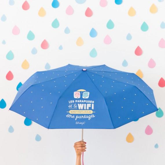 Parapluie - Les parapluies et le wifi sont faits pour être partagés